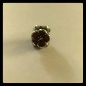 Pandora poppy charm for soliders